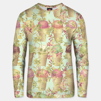 Thumbnail image of Cream & Flowers Cotton sweater, Live Heroes