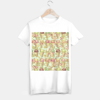 Thumbnail image of Cream & Flowers T-shirt regular, Live Heroes