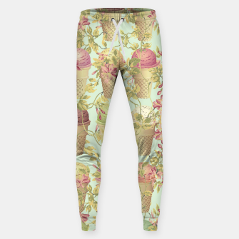 Thumbnail image of Cream & Flowers Cotton sweatpants, Live Heroes