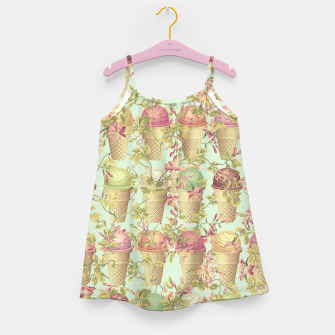 Thumbnail image of Cream & Flowers Girl's dress, Live Heroes
