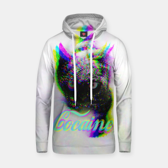 Thumbnail image of Cocaine Cat Hoodie, Live Heroes