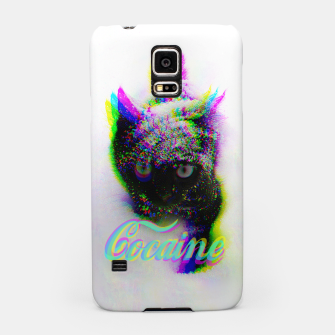 Thumbnail image of Cocaine Cat Samsung Case, Live Heroes