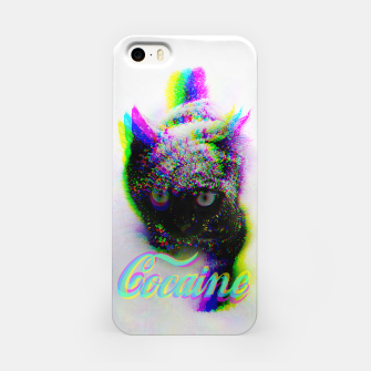 Thumbnail image of Cocaine Cat iPhone Case, Live Heroes