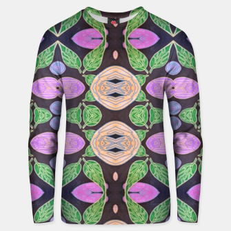 Thumbnail image of Black Flora Cotton sweater, Live Heroes