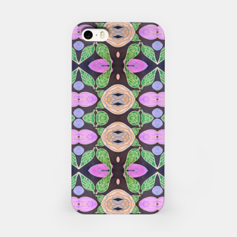 Thumbnail image of Black Flora iPhone Case, Live Heroes