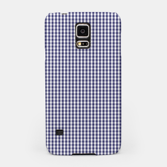 Imagen en miniatura de USA Flag Blue and White Gingham Checked Samsung Case, Live Heroes