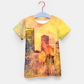 Abstract City Scape Digital Art iPhone Case, Live Heroes