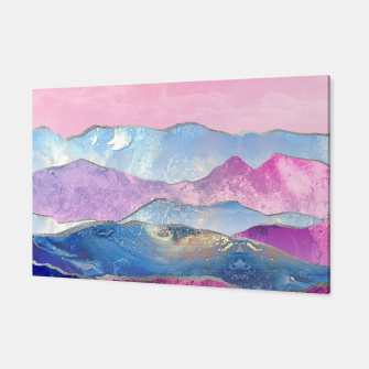 Thumbnail image of Abstract Mountain Landscape  Digital Art Canvas, Live Heroes