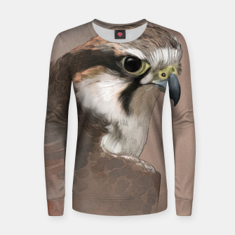 Thumbnail image of Hawk Woman cotton sweater, Live Heroes