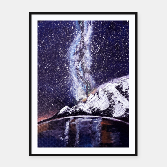 Miniature de image de Constellation Framed poster, Live Heroes