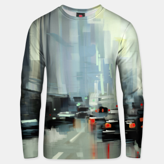 Thumbnail image of Cityscape Cotton sweater, Live Heroes