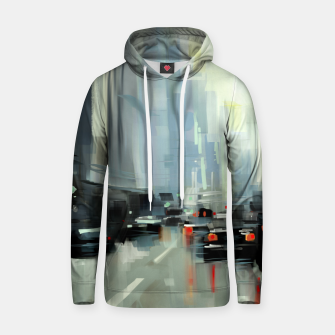 Thumbnail image of Cityscape Cotton hoodie, Live Heroes