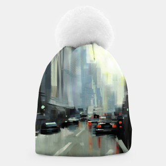Thumbnail image of Cityscape Beanie, Live Heroes