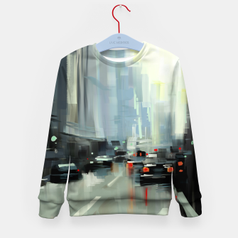 Thumbnail image of Cityscape Kid's sweater, Live Heroes