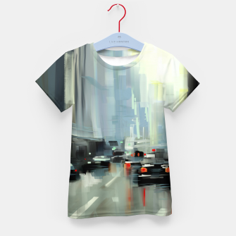 Thumbnail image of Cityscape Kid's t-shirt, Live Heroes