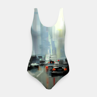 Thumbnail image of Cityscape Swimsuit, Live Heroes
