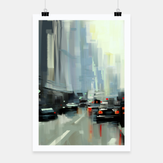 Thumbnail image of Cityscape Poster, Live Heroes
