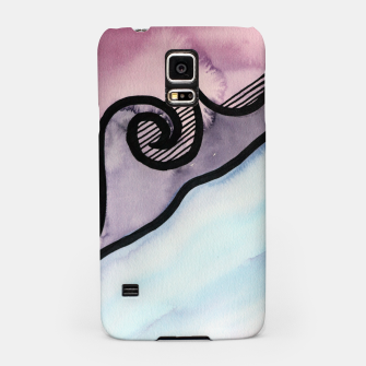Thumbnail image of Sharp 80s watercolor Samsung Case, Live Heroes