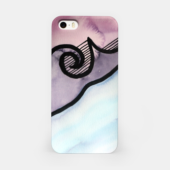 Thumbnail image of Sharp 80s watercolor iPhone Case, Live Heroes