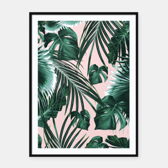 Miniature de image de Tropical Jungle Leaves Dream #1 #tropical #decor #art  Plakat mit rahmen, Live Heroes