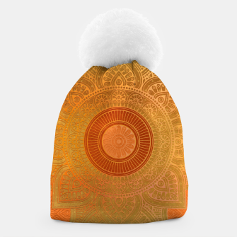 "Miniaturka ""Savanna Orange-Gold Mandala"" Gorro, Live Heroes"