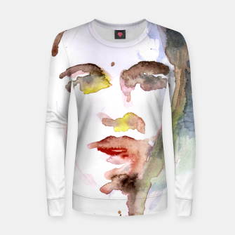 Thumbnail image of Make-Up Woman cotton sweater, Live Heroes
