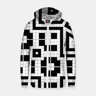 Hyperion Geometrics Cotton zip up hoodie thumbnail image