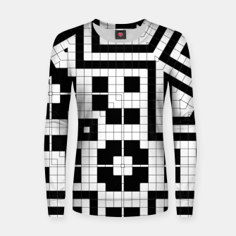 Hyperion Geometrics Woman cotton sweater thumbnail image