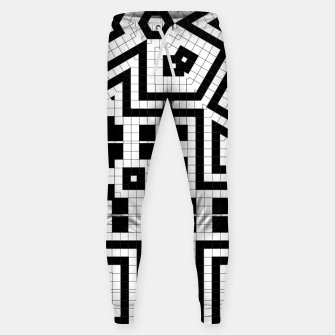 Hyperion Geometrics Cotton sweatpants thumbnail image
