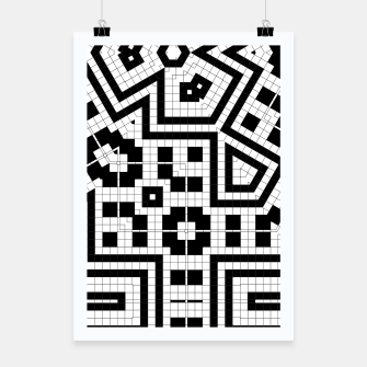 Thumbnail image of Hyperion Geometrics Poster, Live Heroes