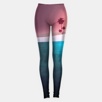 Thumbnail image of Bikini Beach Leggings, Live Heroes