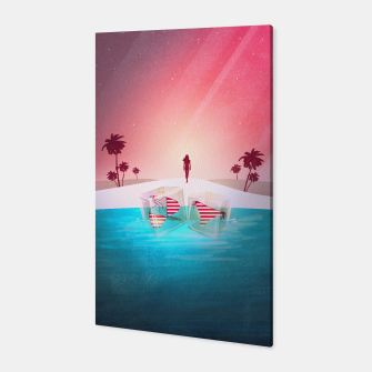Thumbnail image of Bikini Beach Canvas, Live Heroes