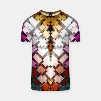 V-Stack Pyramid Abstract Art T-shirt thumbnail image