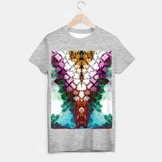 V-Stack Pyramid Abstract Art T-shirt regular thumbnail image
