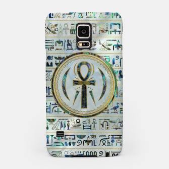Thumbnail image of Abalone Shell Egyptian Ankh Cross symbol Samsung Case, Live Heroes