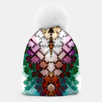 V-Stack Pyramid Abstract Art Beanie thumbnail image