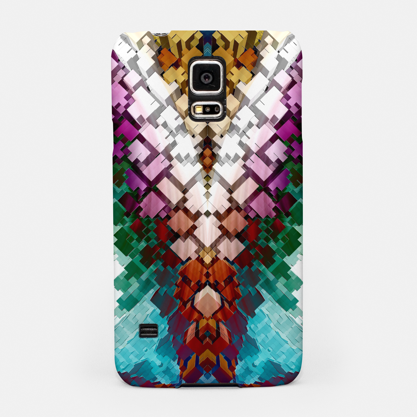 Image of V-Stack Pyramid Abstract Art Samsung Case - Live Heroes