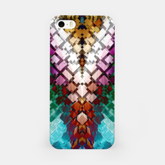 V-Stack Pyramid Abstract Art iPhone Case thumbnail image