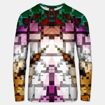 Thumbnail image of Cuboid Pyramid Cotton sweater, Live Heroes