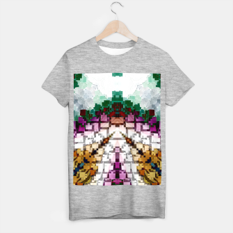 Thumbnail image of Cuboid Pyramid T-shirt regular, Live Heroes