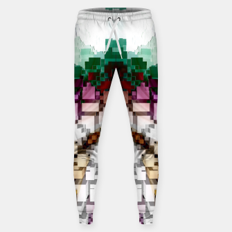 Thumbnail image of Cuboid Pyramid Cotton sweatpants, Live Heroes