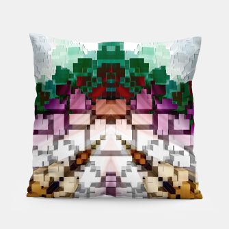 Thumbnail image of Cuboid Pyramid Pillow, Live Heroes