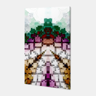Thumbnail image of Cuboid Pyramid Canvas, Live Heroes