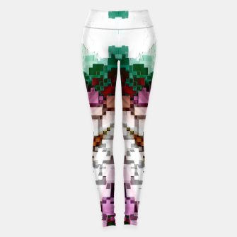 Thumbnail image of Cuboid Pyramid Leggings, Live Heroes