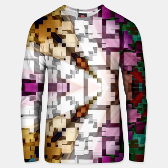 Thumbnail image of Cuboid Pyramid Cotton Side sweater, Live Heroes