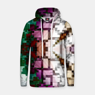 Thumbnail image of Cuboid Pyramid Side Cotton hoodie, Live Heroes