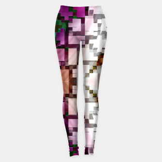 Thumbnail image of Cuboid Pyramid Side Leggings, Live Heroes