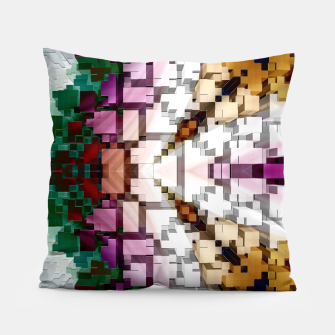 Thumbnail image of Cuboid Pyramid Side Pillow, Live Heroes