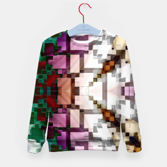 Thumbnail image of Cuboid Pyramid Side Kid's sweater, Live Heroes