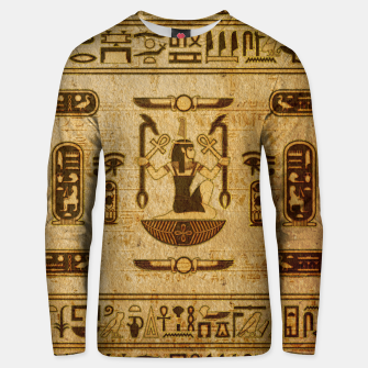 Thumbnail image of Vintage Egyptian Ornament  Cotton sweater, Live Heroes